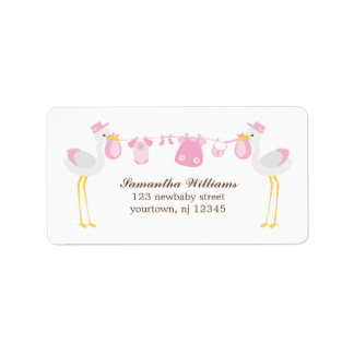 Special Delivery {pink} Label