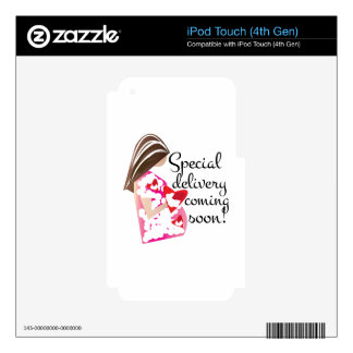 Special Delivery Skins For iPod Touch 4G
