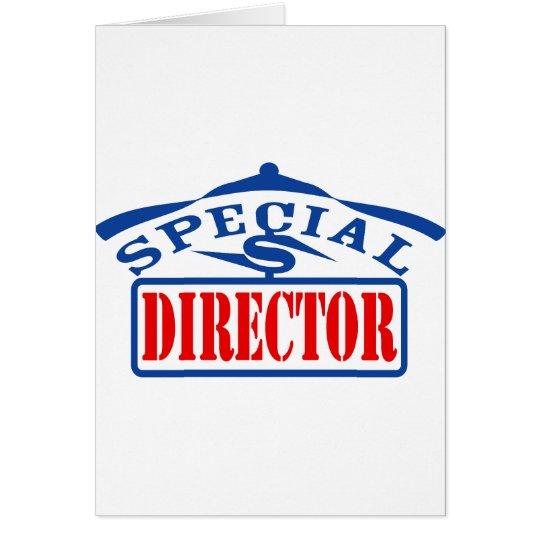 special director card