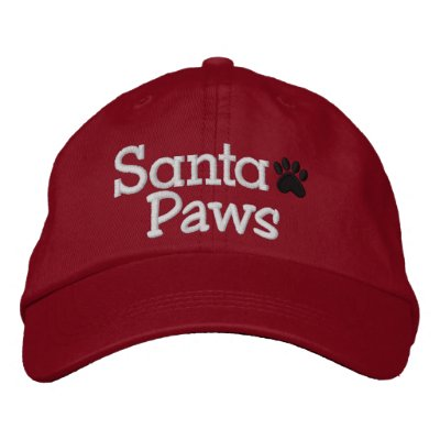 SPECIAL DISCOUNT SANTA PAWS Cap Embroidered Hat