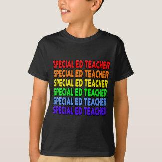 Special Ed del arco iris. Profesor Playera
