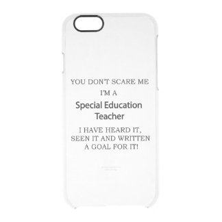 Special Ed. Teacher Clear iPhone 6/6S Case