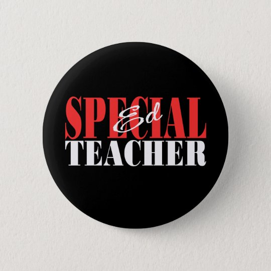 Special Ed Teacher Gift Pinback Button
