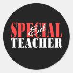 Special Ed Teacher Gift Round Stickers