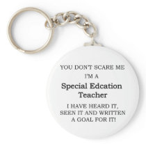 Special Ed. Teacher Keychain