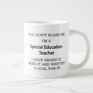 Special Ed Teacher Large Coffee Mug