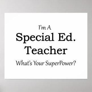 Special Ed. Teacher Poster