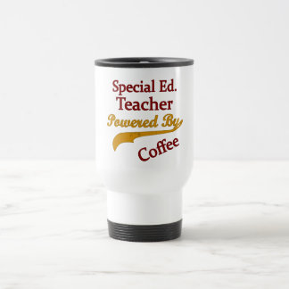 Special Ed. Teacher Powered By Coffee Coffee Mug