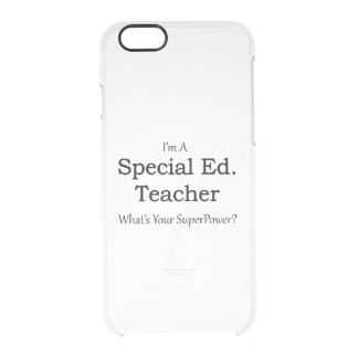 Special Ed. Teacher Uncommon Clearly™ Deflector iPhone 6 Case