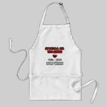 Special Ed. Teacher ... Will Work For Wine Aprons