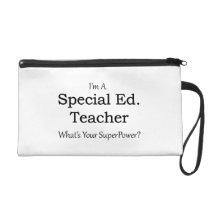 Special Ed. Teacher Wristlet Purse