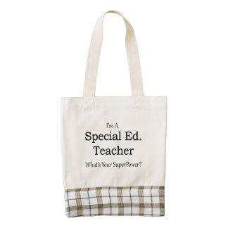 Special Ed. Teacher Zazzle HEART Tote Bag