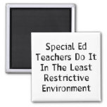 Special Ed Teachers 2 Inch Square Magnet