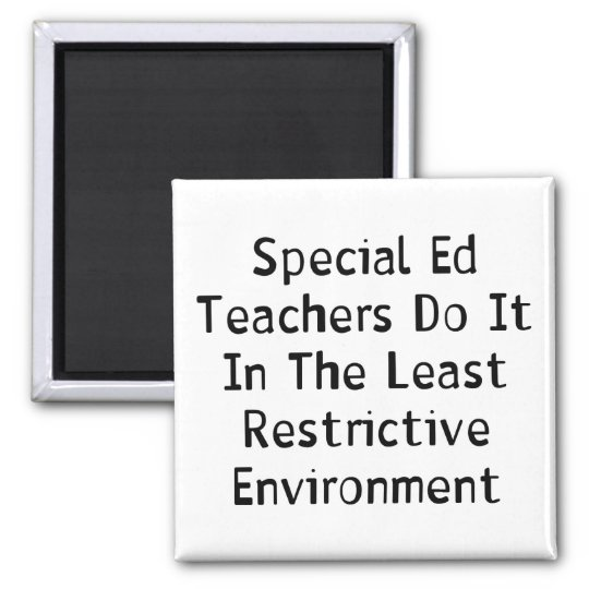 Special Ed Teachers Magnet