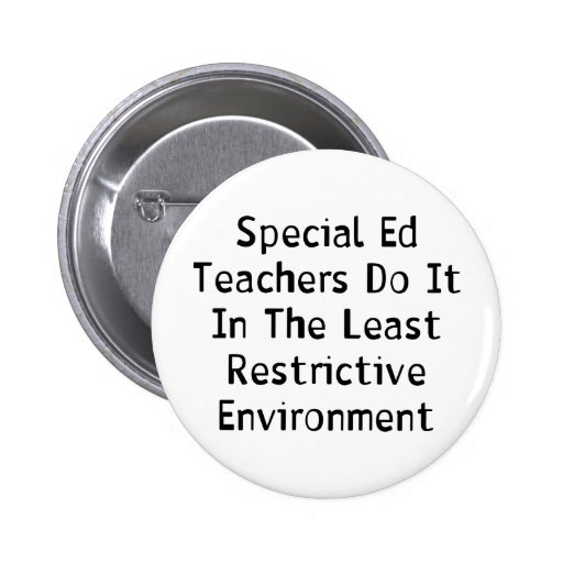 Special Ed Teachers Pins