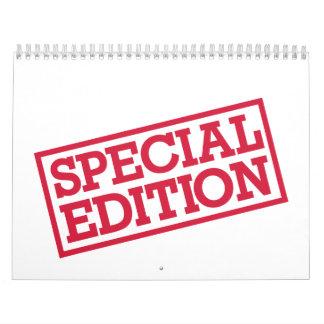 Special Edition Calendar