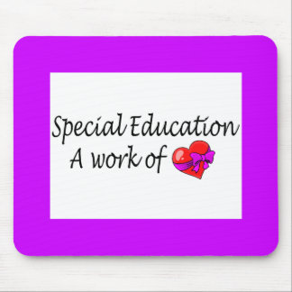 Special Education,A Work Of Love - Customized Mouse Pad