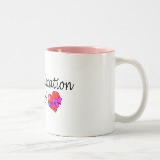 Special Education A Work Of Love Coffee Mug