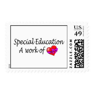Special Education,A Work Of Love Postage