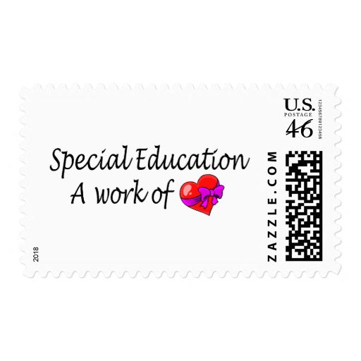 Special Education A Work Of Love Stamps