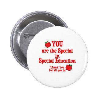 Special Education Appreciation Pinback Buttons