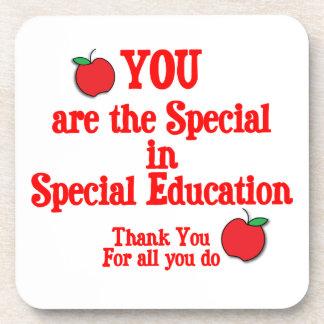 Special Education Appreciation Drink Coaster