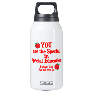Special Education Appreciation Insulated Water Bottle