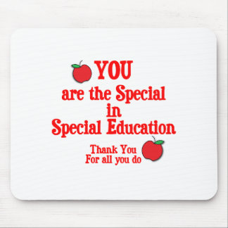 Special Education Appreciation Mouse Pad