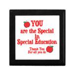 Special Education Appreciation Trinket Boxes