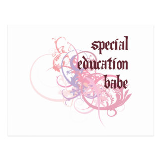 Special Education Babe Postcard