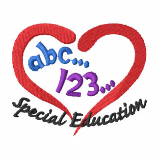 Special Education Embroidered Hooded Sweatshirts