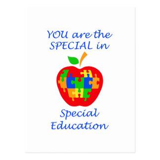 SPECIAL EDUCATION POSTCARD