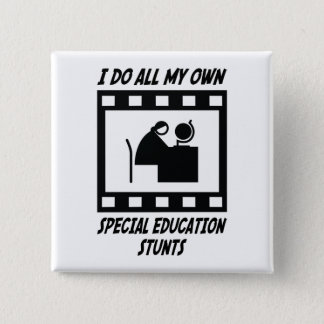 Special Education Stunts Button
