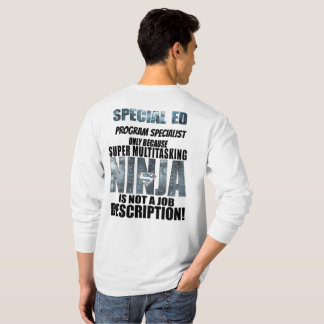 Special Education Super Ninja T-shirt