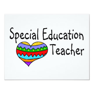 Special Education Teacher Card