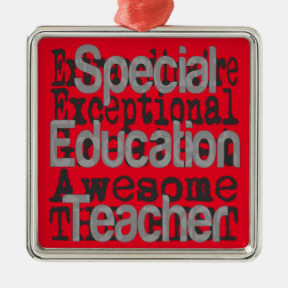 Special Education Teacher Extraordinaire Metal Ornament