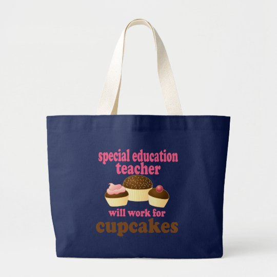 Special Education Teacher (Funny) Gift Large Tote Bag