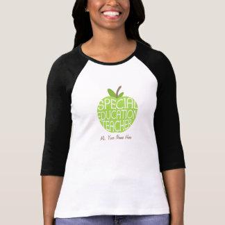 Special Education Teacher Green Apple Shirt