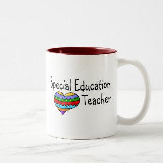 Special Education Teacher Two-Tone Coffee Mug