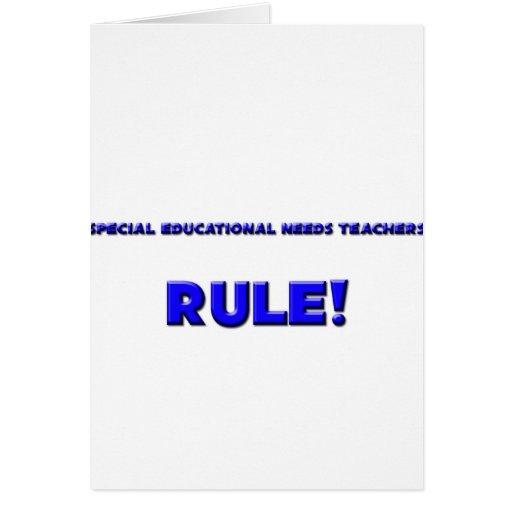 Special Educational Needs Teachers Rule! Card