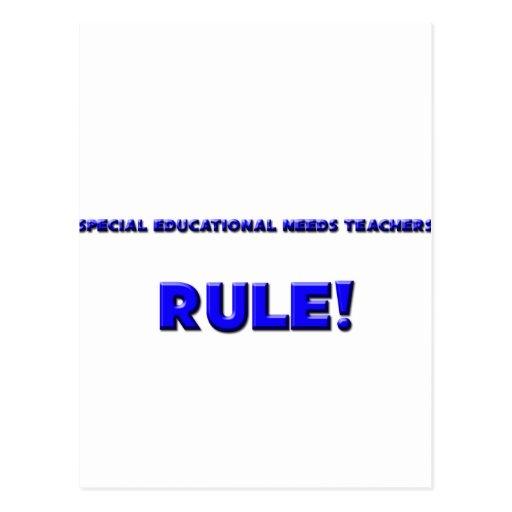 Special Educational Needs Teachers Rule! Postcards