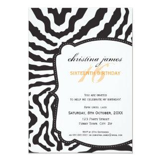 SPECIAL EVENT INVITES :: superb zebra 3P