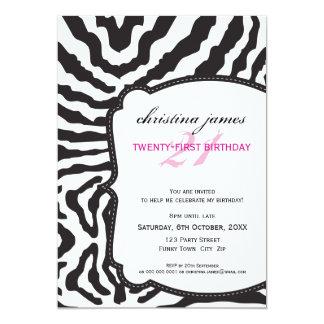 SPECIAL EVENT INVITES :: superb zebra 6P