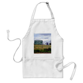 Special Event Parking in the Country Adult Apron