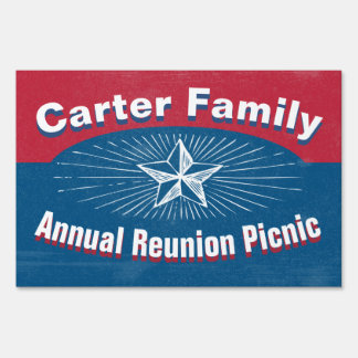 Special Event Yard Sign