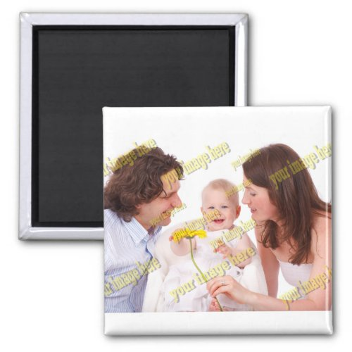 Special Family Photo Magnet
