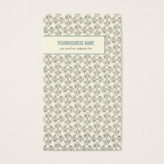 Special Floral Vintage Pattern 3 Business Card