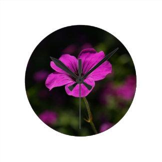 Special Flower Round Clocks