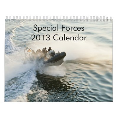 Special Forces 2013 Calendar