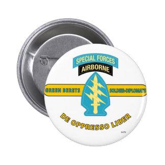 SPECIAL FORCES AIRBORNE DE OPPRESSO LIBER PINS